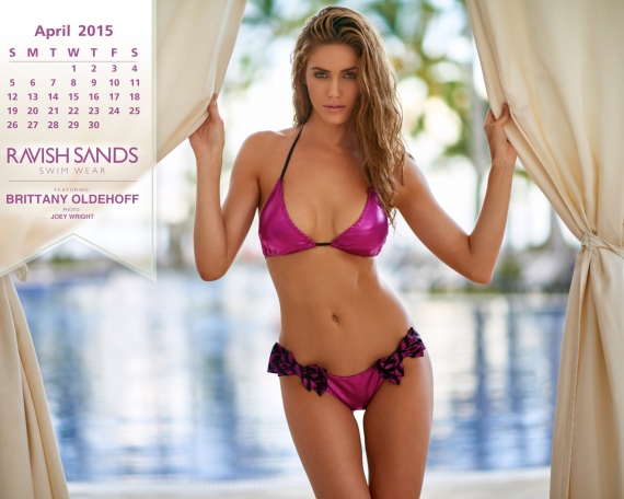 Ravish Sands 2015 Calendar Shoot